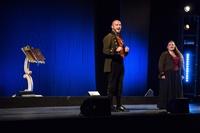 ALESSANDRO SIANI E CHRISTIAN DE SICA - IL PRINCIPE ABUSIVO A TEATRO - foto 5