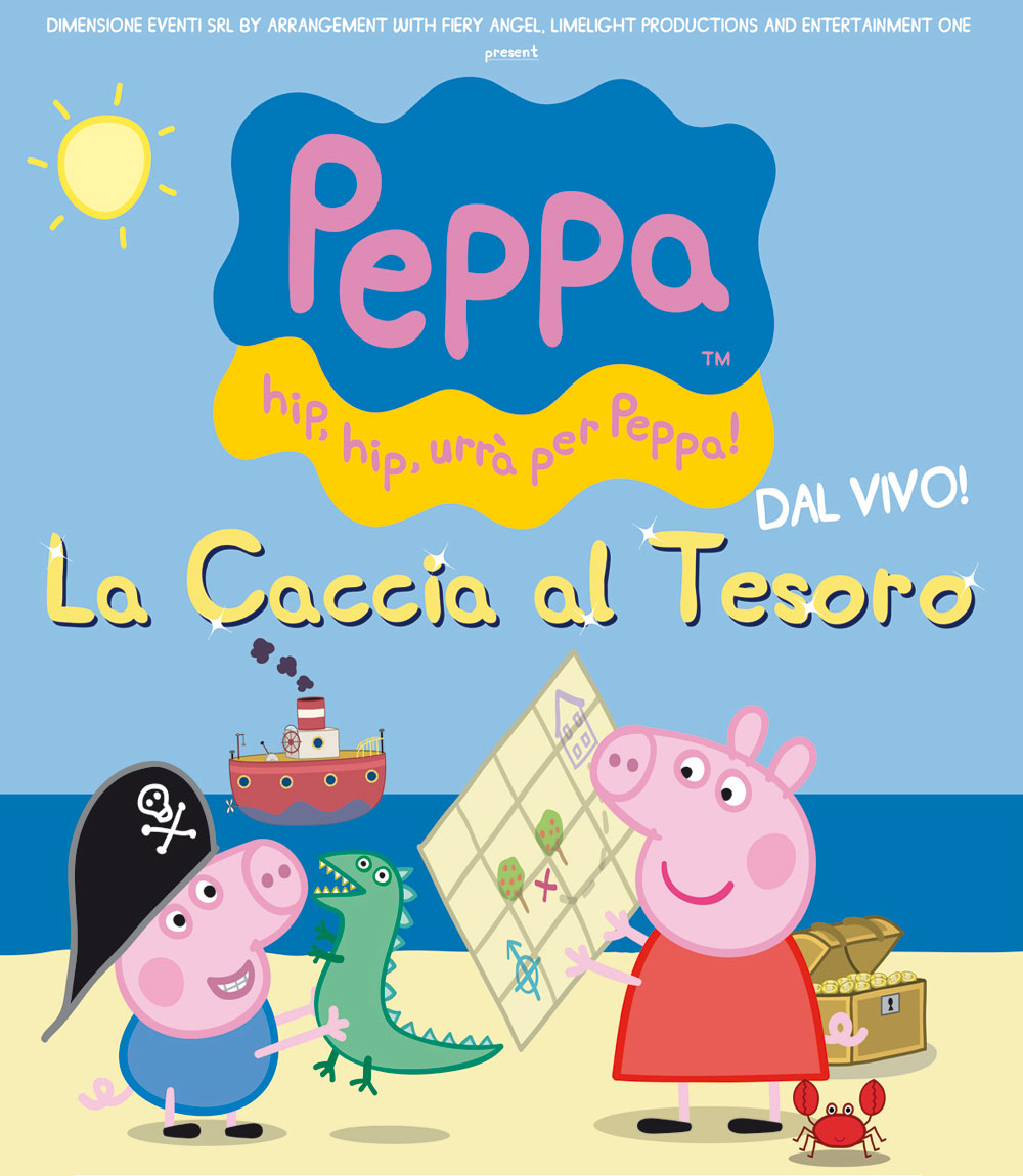 SPOSTAMENTO LOCATION SPETTACOLO PEPPA PIG