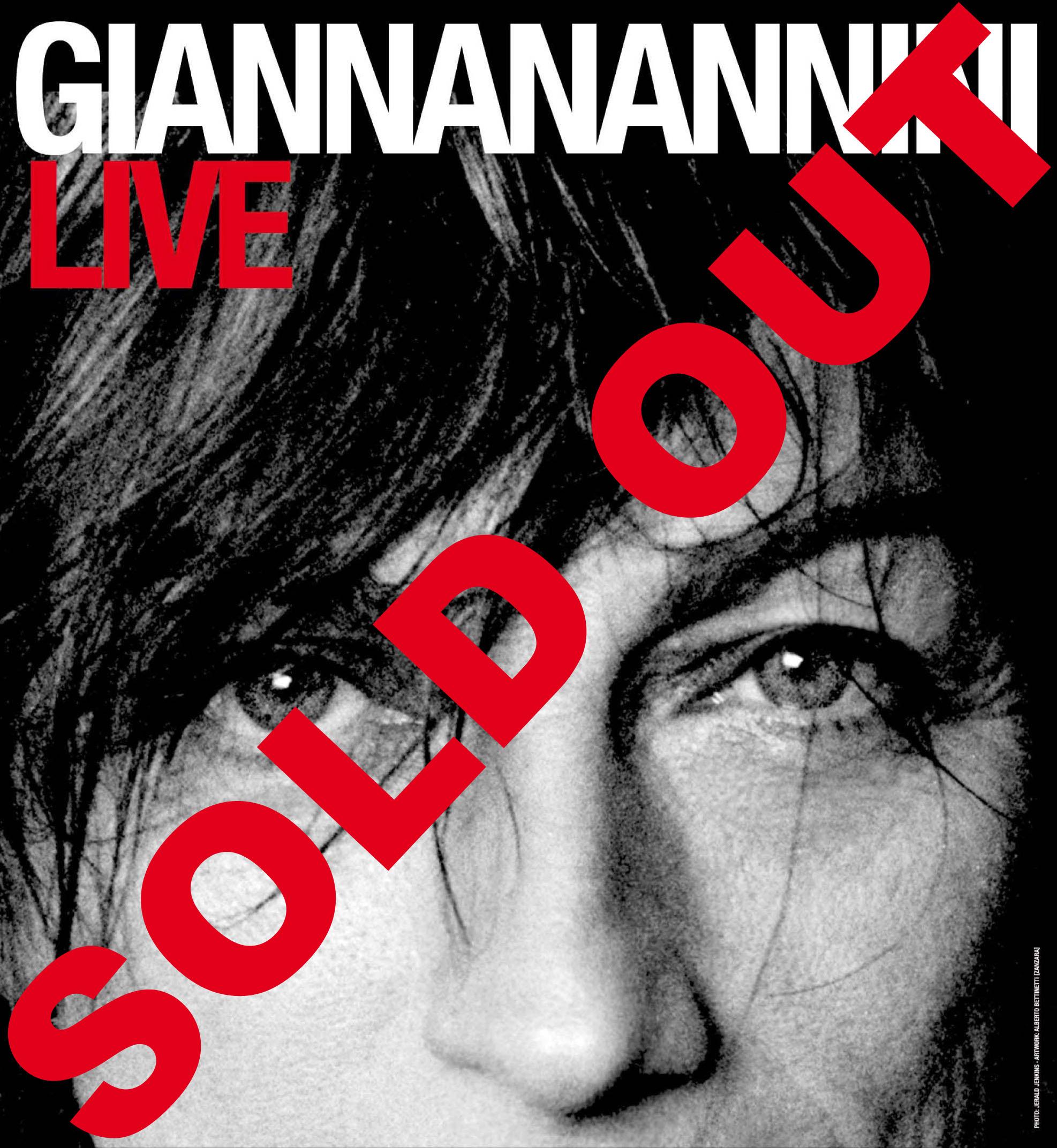 """""""GIANNA NANNINI LIVE"""" TOUR 2008"""