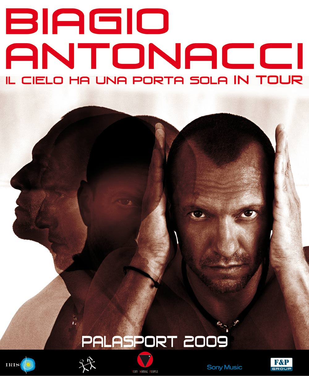 IL CIELO HA UNA PORTA SOLA TOUR 2009