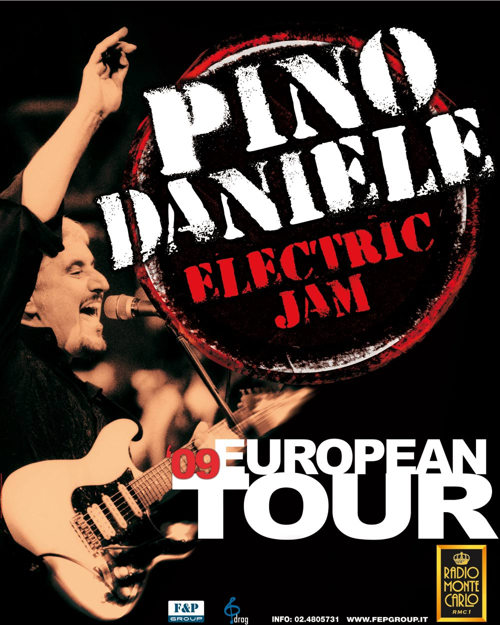 ELECTRIC JAM TOUR 2009