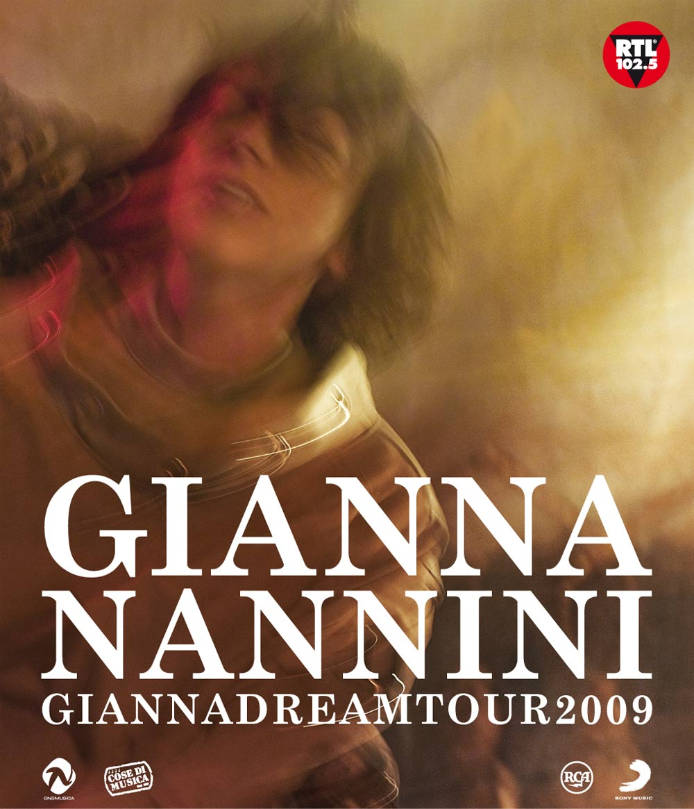 GIANNADREAM TOUR 2009