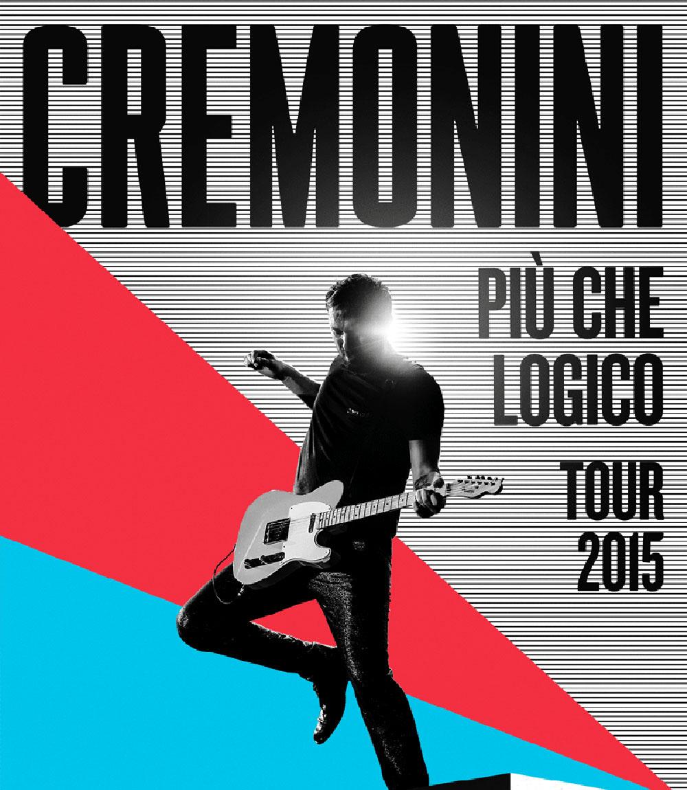 """CESARE CREMONINI """"PIÙ CHE LOGICO TOUR 2015"""", AL PALASELE L'UNICA TAPPA IN CAMPANIA! AL VIA DOMANI LE PREVENDITE"""