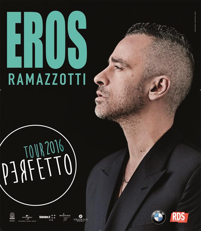 L'EROS WORLD TOUR 2016 IL 1 MARZO A EBOLI, AL VIA LA PREVENDITA!