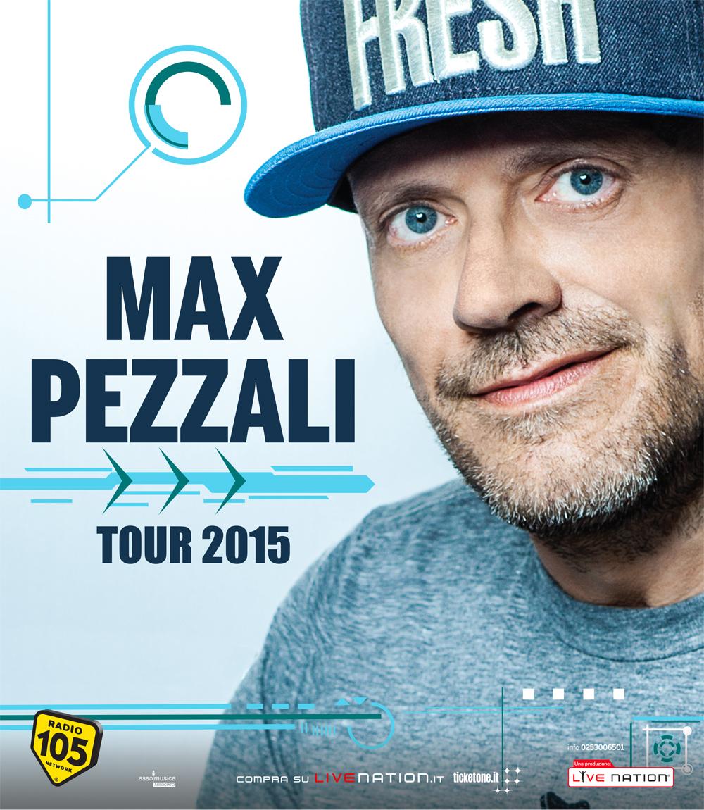 MAX PEZZALI INAUGURA L'AUTUNNO LIVE DEL PALASELE
