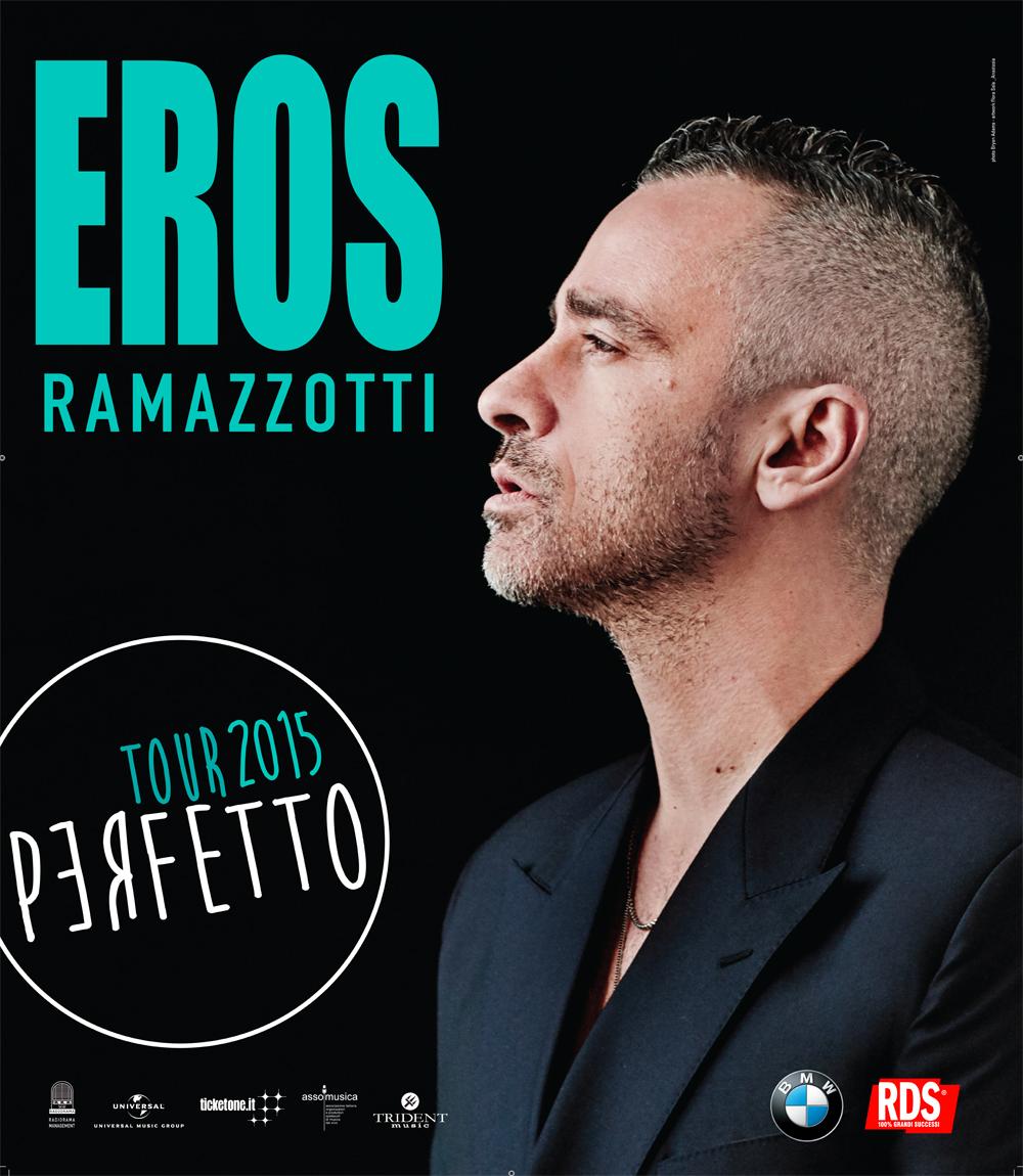 DOMANI SERA EROS RAMAZZOTTI IN CONCERTO AL PALASELE CON IL PERFETTO WORLD TOUR 2016