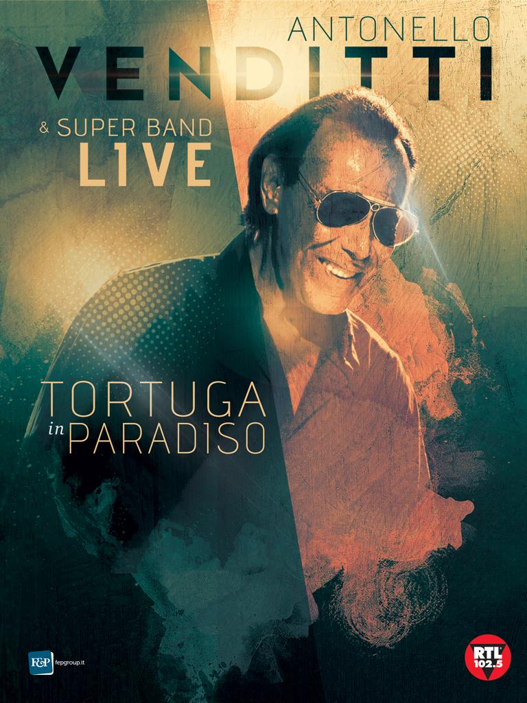 """ANTONELLO VENDITTI IN CONCERTO A PAESTUM IL 16 AGOSTO CON IL TOUR """"TORTUGA IN PARADISO"""""""