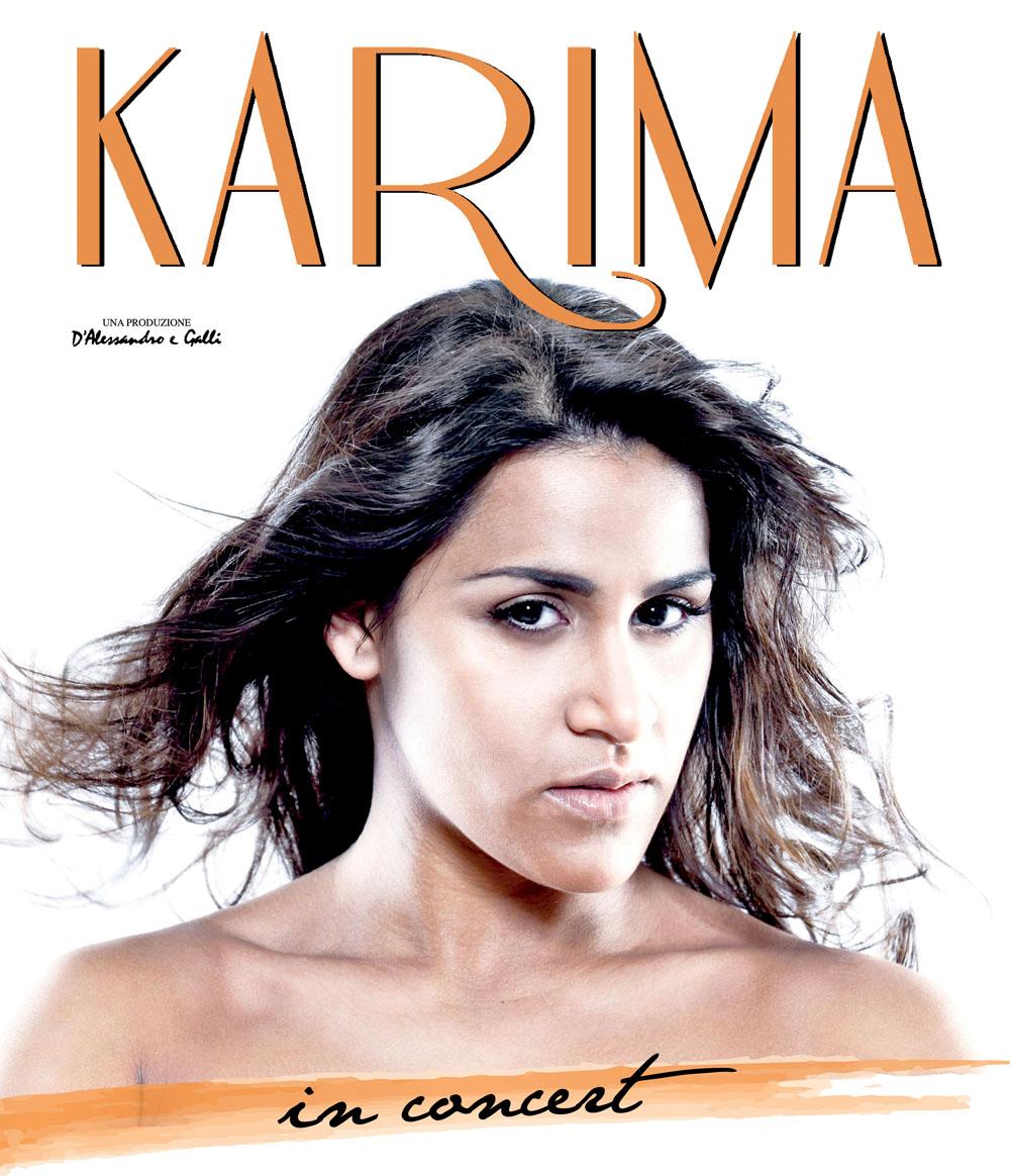 Karima in tour 2011