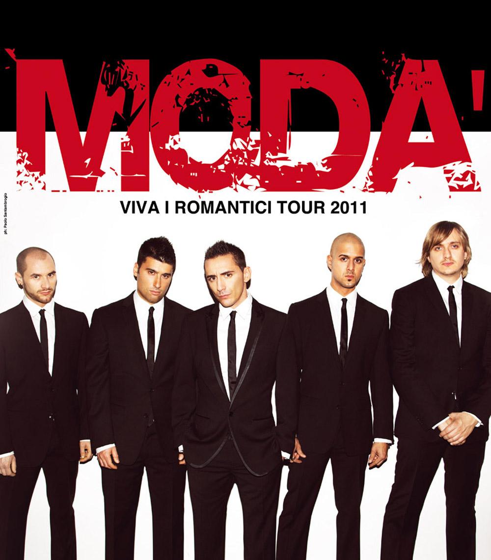 """""""VIVA I ROMANTICI TOUR 2011"""""""