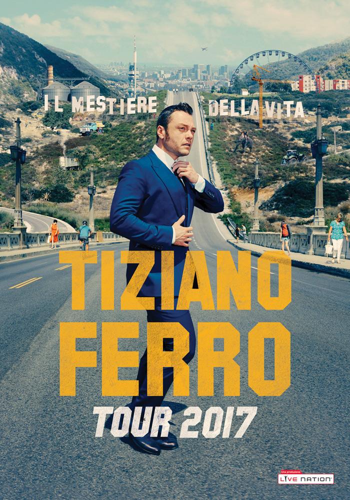 TIZIANO FERRO TOUR 2017, IL 12 LUGLIO TAPPA ALLO STADIO ARECHI DI SALERNO