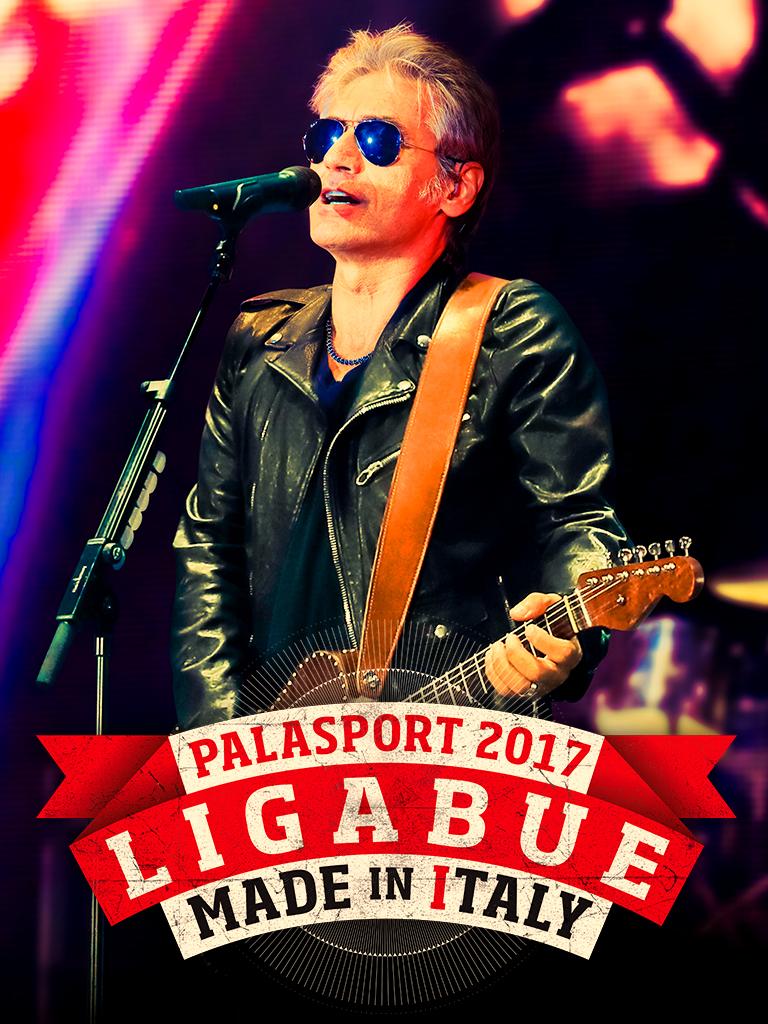 "IL 27 FEBBRAIO LUCIANO LIGABUE LIVE AL PALASELE  CON ""MADE IN ITALY - PALASPORT 2017"""