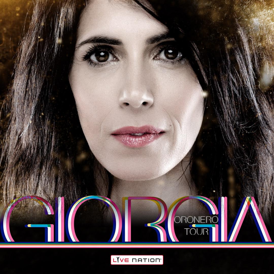 """GIORGIA CON """"ORONERO TOUR"""" IL 9 APRILE AL PALASELE"""