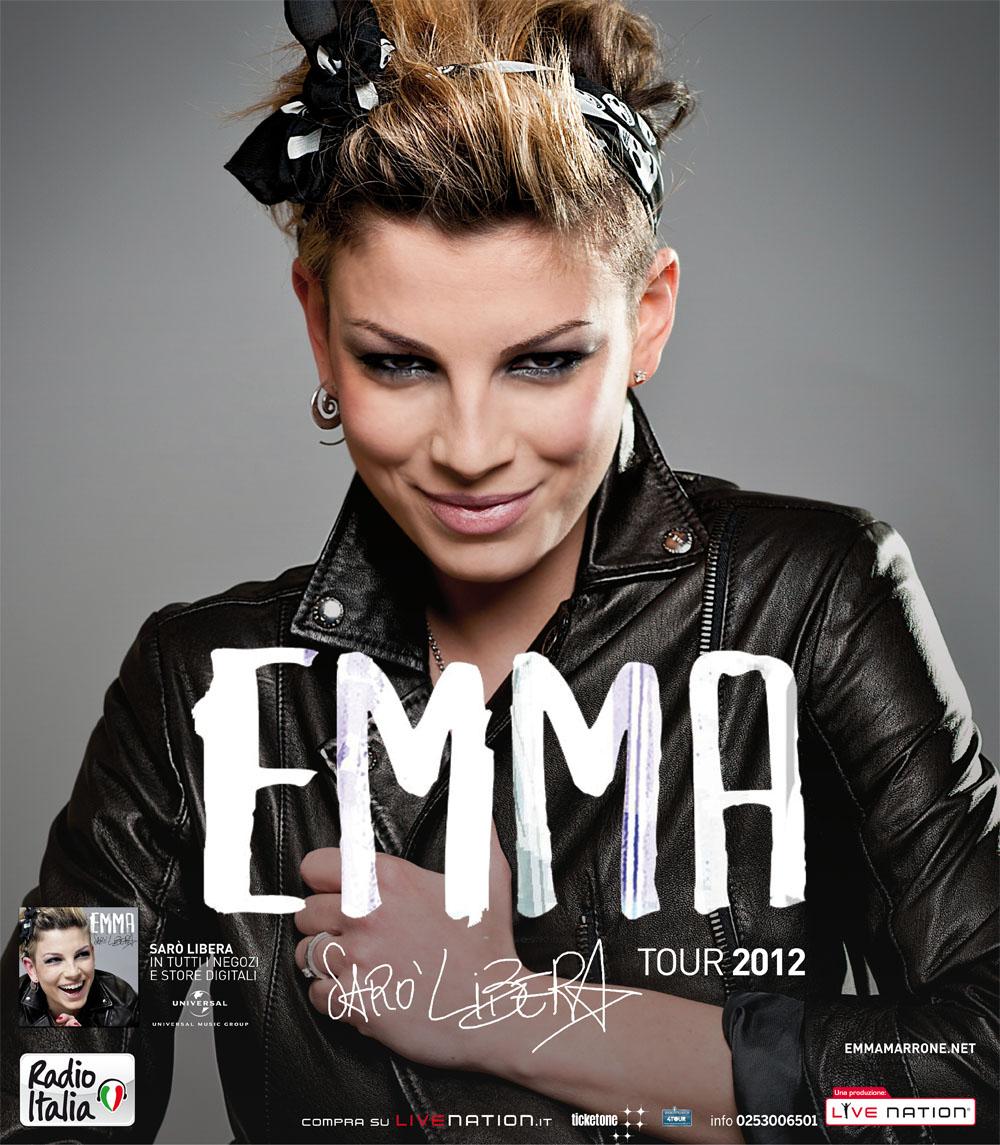 SARO' LIBERA TOUR 2012