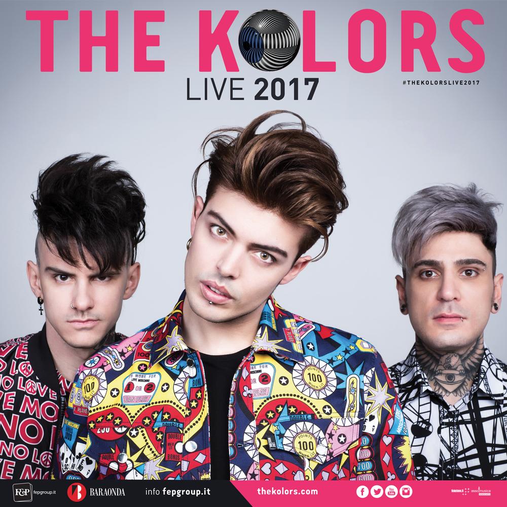 THE KOLORS LIVE 2017 @ PAESTUM, IL 16 AGOSTO AL TEATRO DEI TEMPLI