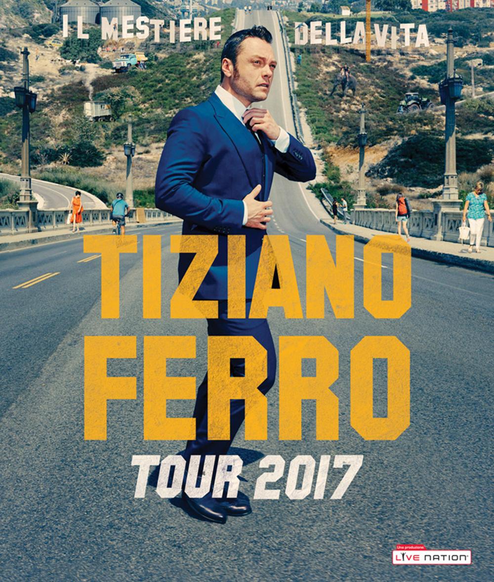 TIZIANO FERRO ALLO STADIO ARECHI DI SALERNO: SOLD OUT LA TAPPA, PENULTIMA DELLO STRAORDINARIO TOUR 2017