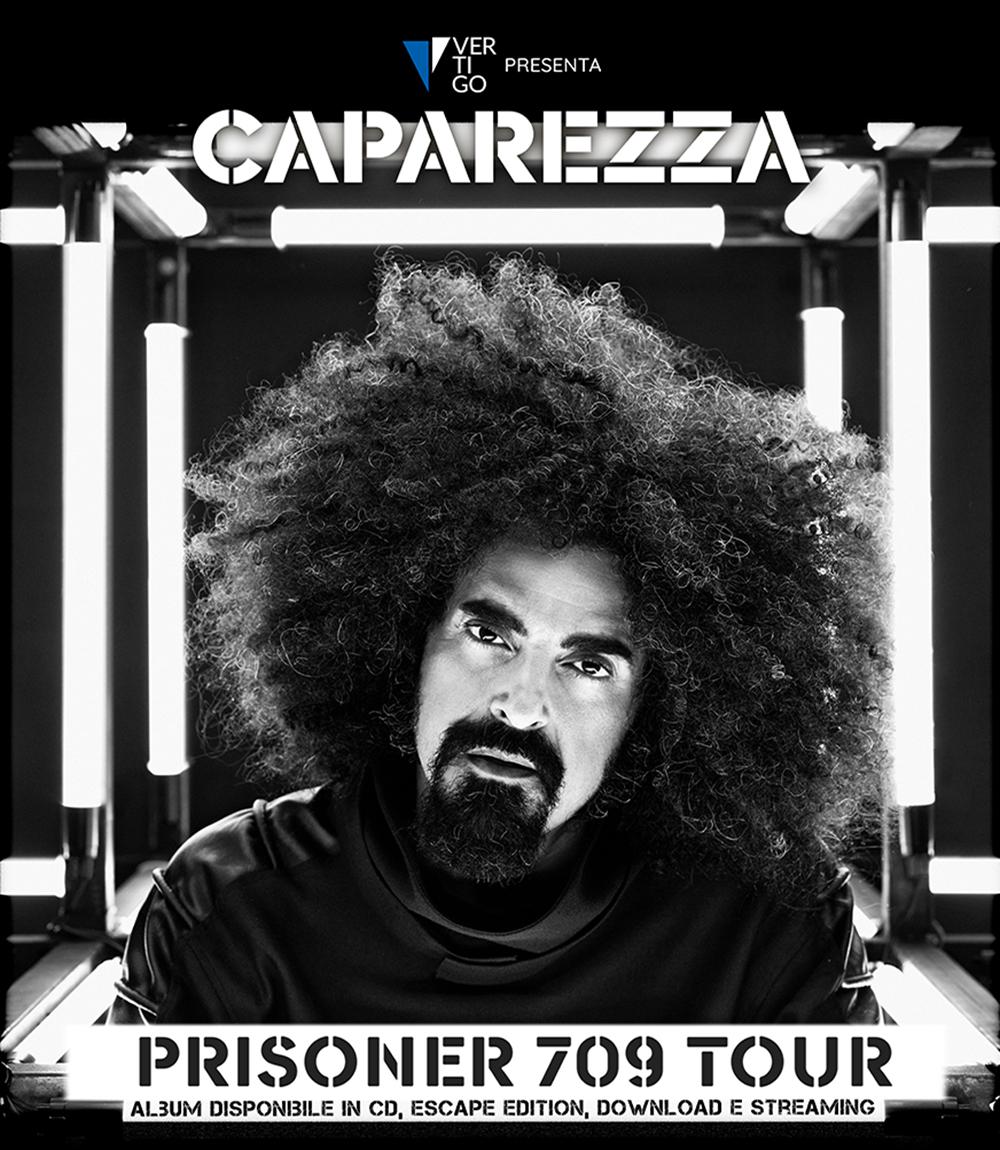 """IL 30 LUGLIO CAPAREZZA CON IL """"PRISONER 709 TOUR""""  A 'CAVASOUNDS' c/o AREA MERCATALE DI CAVA DE' TIRRENI"""