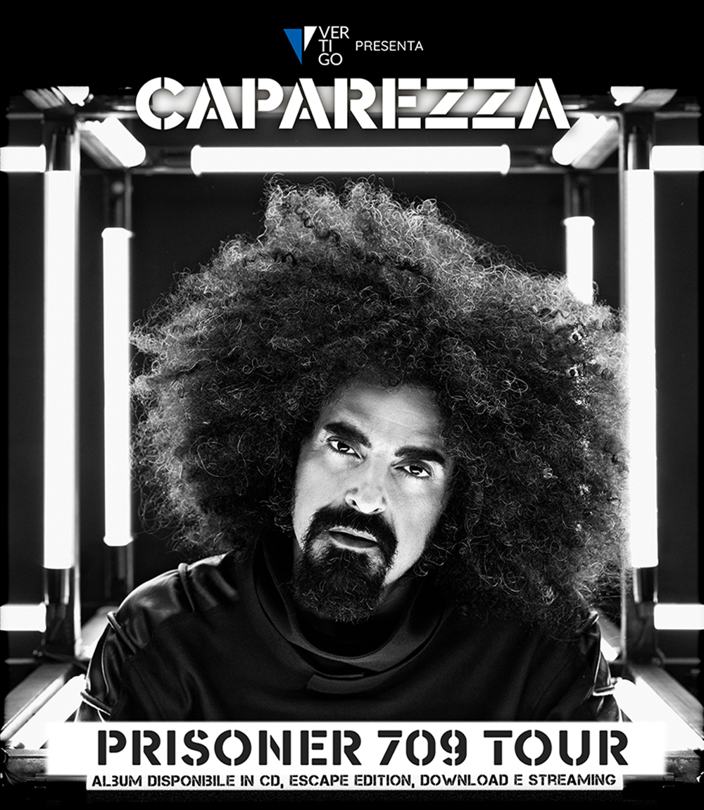 """CAPAREZZA PRONTO A IPNOTIZZARE CAVA DE' TIRRENI CON IL SUO """"PRISONER 709 TOUR"""", LUNEDÌ 30 LUGLIO LO SHOW DELL'ESTATE A CAVASOUNDS"""