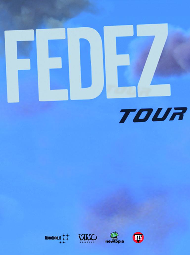 ANNUNCIATO IL NUOVO TOUR DI FEDEZ,  TAPPA AL PALASELE DI EBOLI IL 30 MARZO 2019