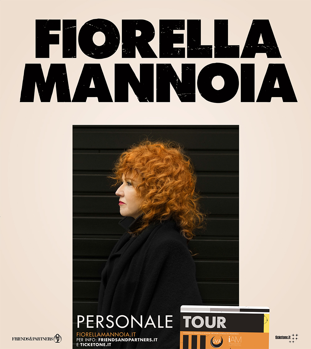 """NUOVA DATA """"PERSONALE TOUR"""" DI FIORELLA MANNOIA: IL 10 OTTOBRE AL GRAN TEATRO PALADIANFLEX DI ATENA LUCANA"""