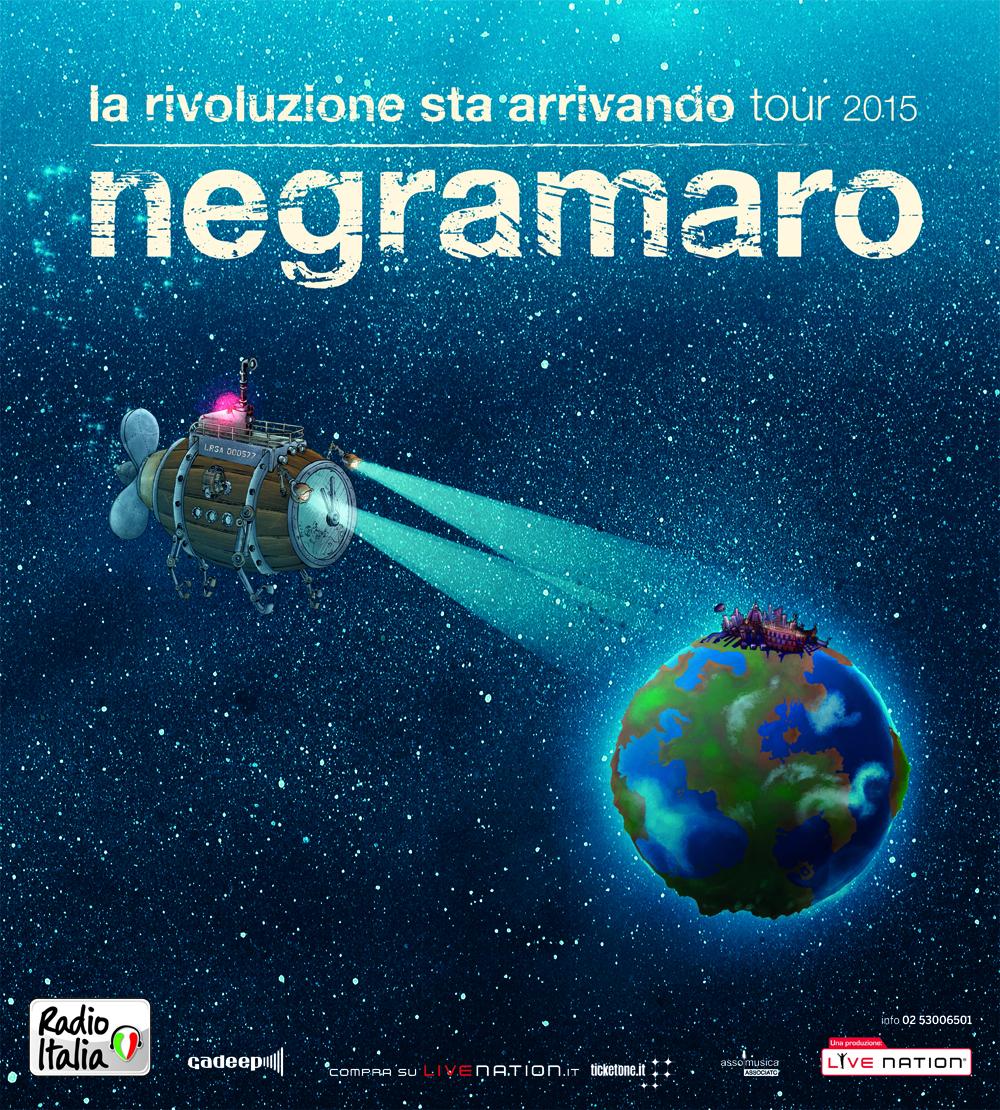 LA RIVOLUZIONE STA ARRIVANDO TOUR 2015