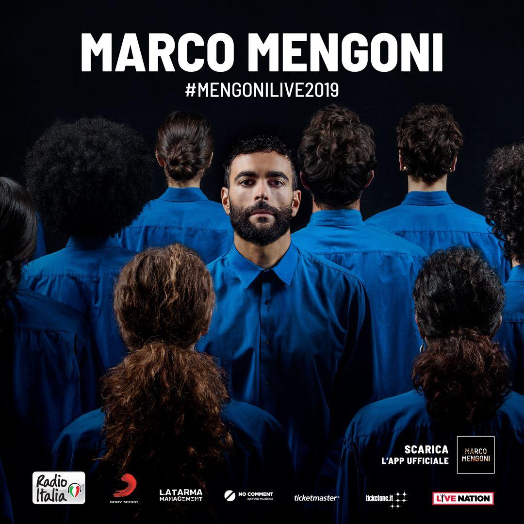 "MARCO MENGONI LIVE AL PALASELE DI EBOLI CON ""ATLANTICO TOUR"""