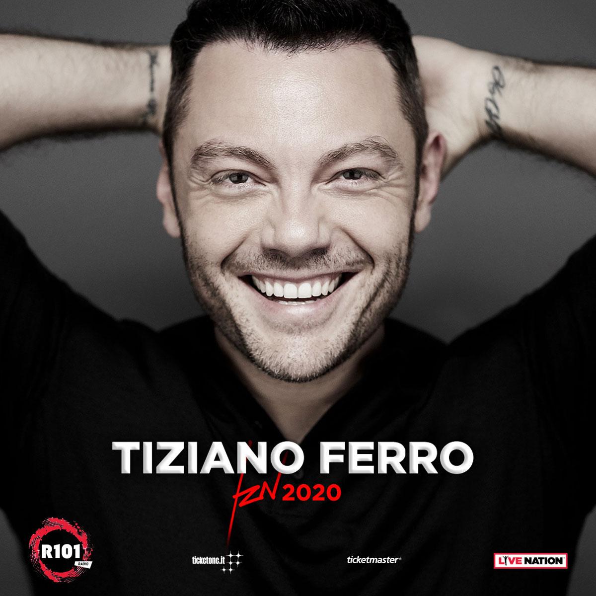 TIZIANO FERRO: IL NUOVO TOUR IL 24 GIUGNO 2020 ALLO STADIO SAN PAOLO DI NAPOLI