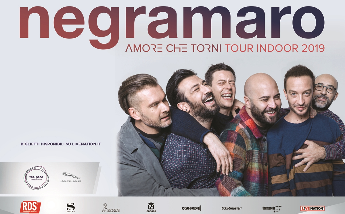 AMORE CHE TORNI TOUR INDOOR 2019