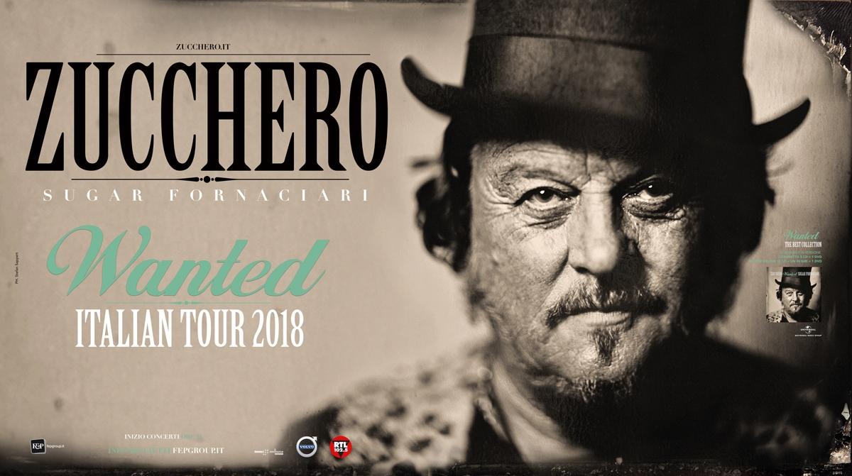 WANTED - ITALIAN TOUR 2018