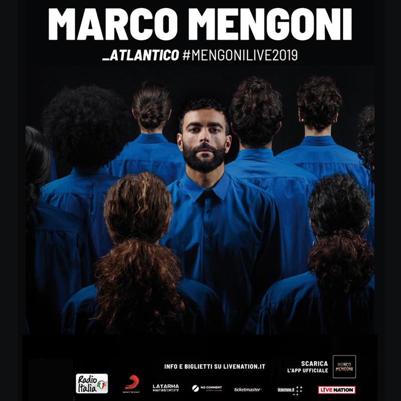 MARCO MENGONI TORNA AL PALASELE, IL 24 NOVEMBRE NUOVA DATA PER ATLANTICO TOUR!