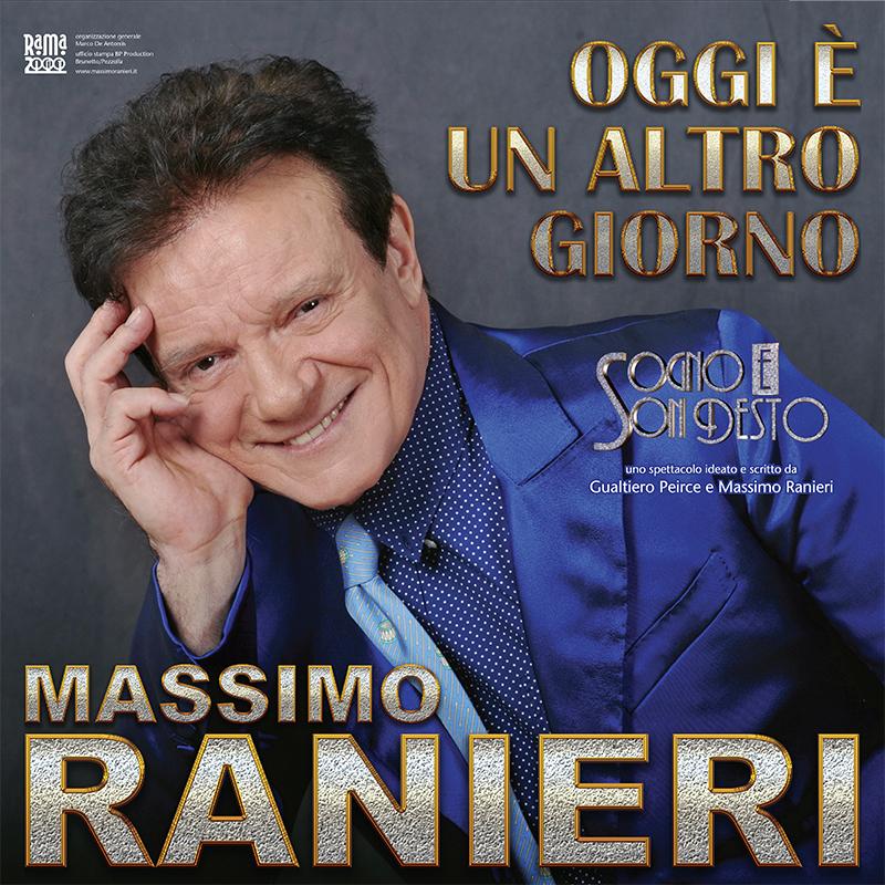 MASSIMO RANIERI, RINVIATE IN AUTUNNO LE DATE NEI TEATRI DI BERGAMO, MILANO E GENOVA
