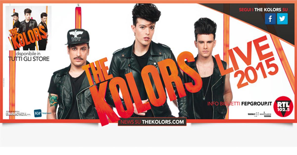 THE KOLORS LIVE 2015