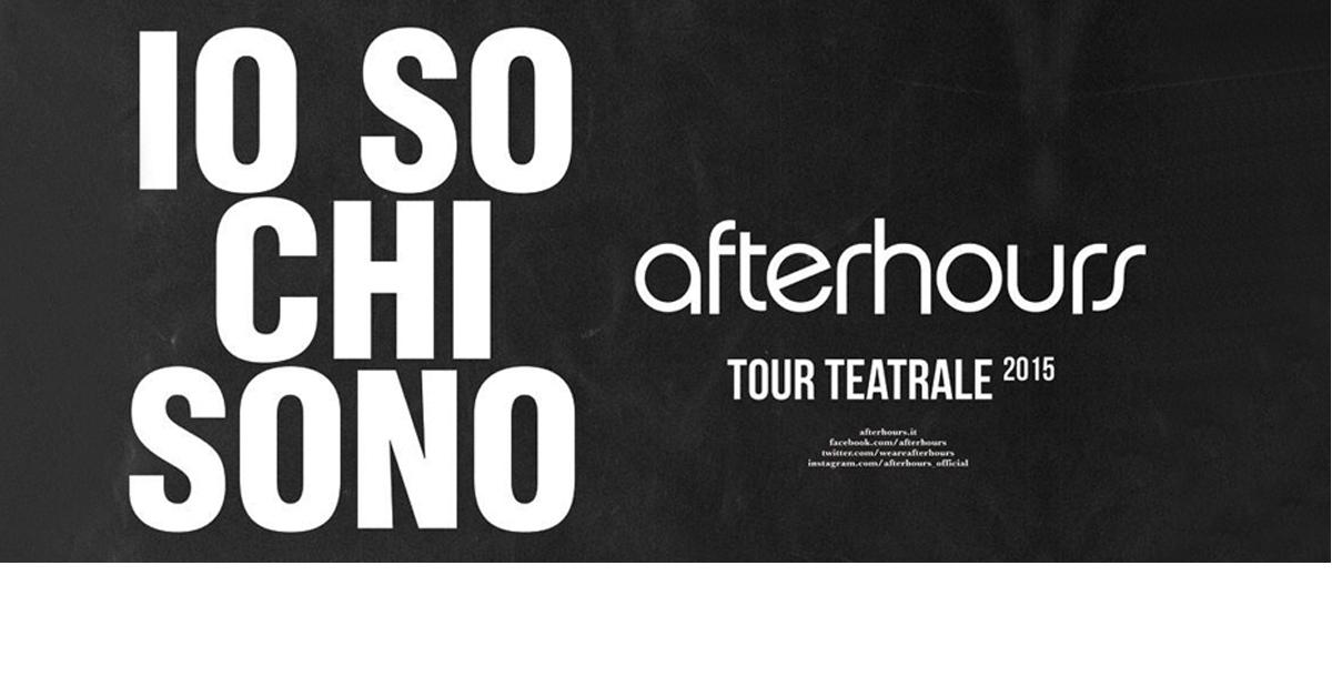 TOUR TEATRALE 2015