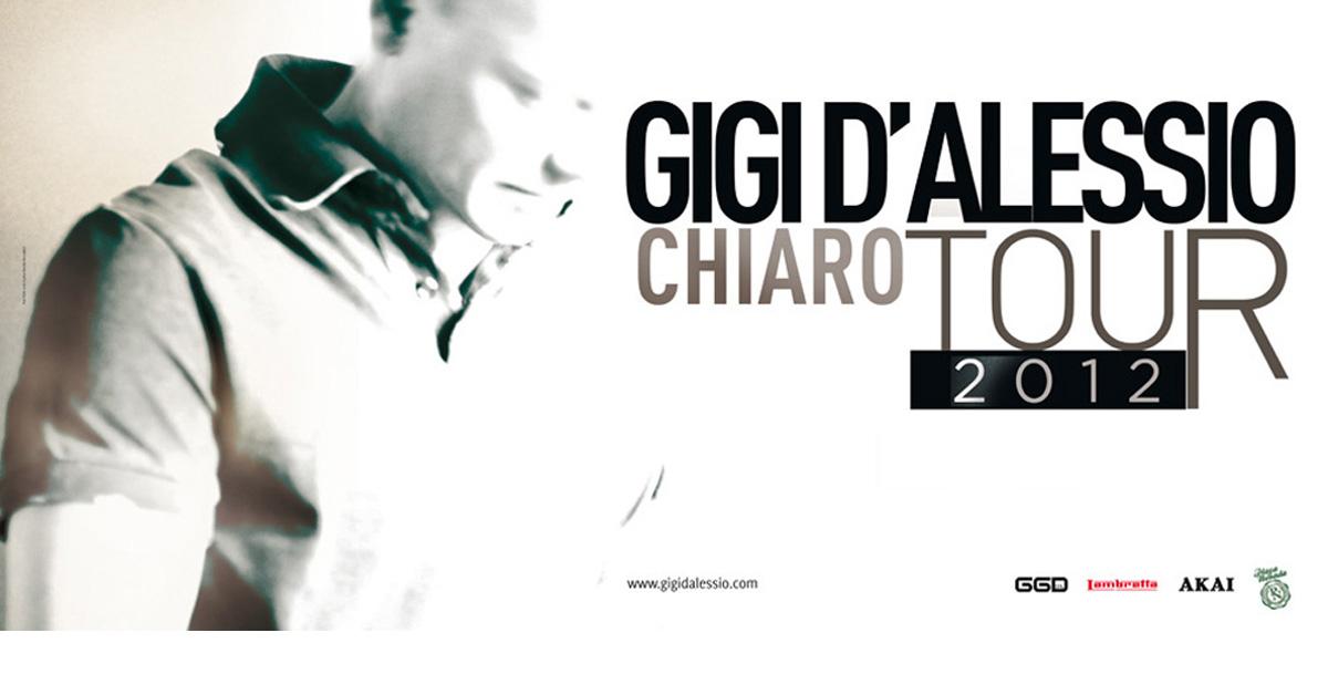 CHIARO TOUR 2012