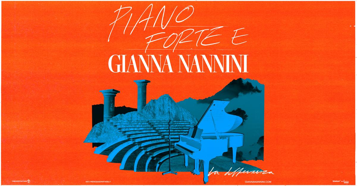 GIANNA NANNINI PRONTA A TORNARE IN TOUR:  APPUNTAMENTO IL 17 AGOSTO  NELL'ANFITEATRO DEL PORTO TURISTICO DI MAIORI