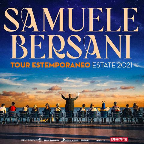 "SAMUELE BERSANI ""TOUR ESTEMPORANEO ESTATE 2021"" IL 30 LUGLIO AL BELVEDERE DI SAN LEUCIO"