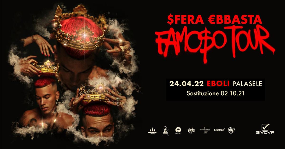SFERA LIVE 2021 RINVIATO IL TOUR NEI PALAZZETTI
