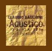 Claudio Baglioni Tour Acustico