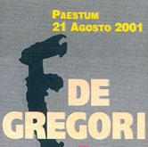 De Gregori Live 2001